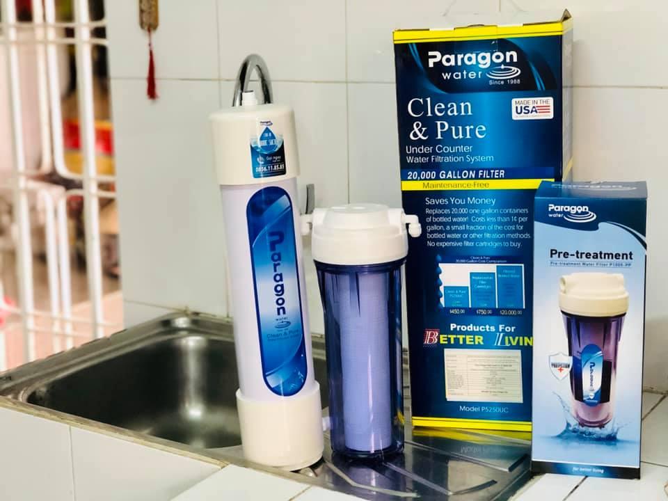 Vì sao máy lọc nước Paragon P5250 không cần dùng điện ?